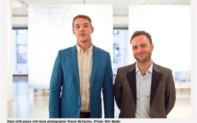 Billboard Magazine: Firm client Shane McCauley celebrates release of new photography book with Diplo